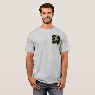 Team-FORTI verkratzter Logo-grundlegender T - T-Shirt