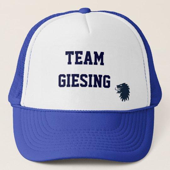 Team Giesing Cap 2 blau Truckerkappe