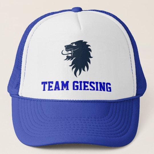 Team Giesing Cap blau Truckerkappe