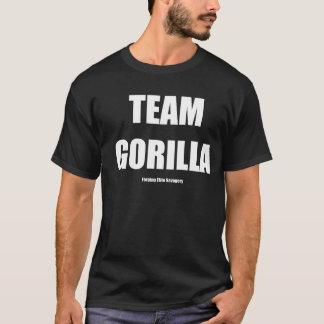 TEAM-GORILLA-WEISS-TEXT T-Shirt