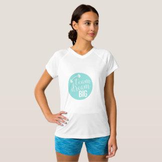 Team-großes Übungs-TraumShirt T-Shirt
