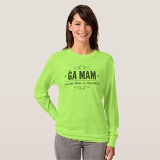 Team-Grün-lange Hülse GA MAM T-Shirt