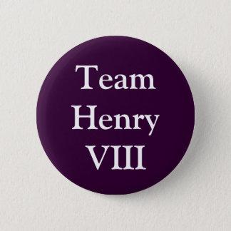Team Henry VIII Runder Button 5,1 Cm