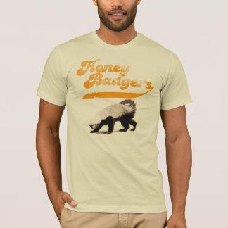 Team-Honig-Dachs Vintag T-Shirt