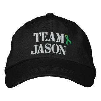 Team-Jason-Hut Bestickte Baseballkappe