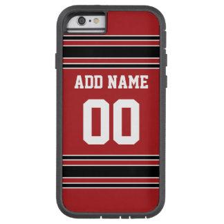 Team Jersey mit individuellem Namen und Zahl Tough Xtreme iPhone 6 Hülle