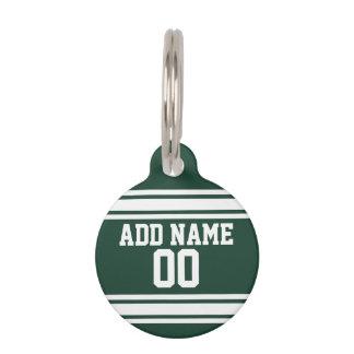 Team Jersey mit individuellem Namen und Zahl Haustiermarke