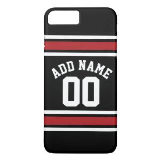Team Jersey mit individuellem Namen und Zahl iPhone 8 Plus/7 Plus Hülle