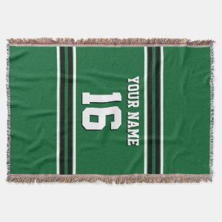 Team-Jerseys Forest Greens schwarzer Decke