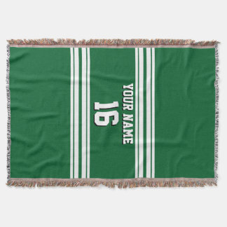 Team-Jerseys Forest Greens weißer Decke