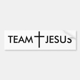 TEAM JESUS AUTOAUFKLEBER