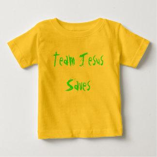 Team Jesus rettet Baby T-shirt