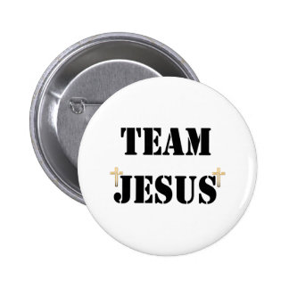 Team Jesus Runder Button 5,1 Cm