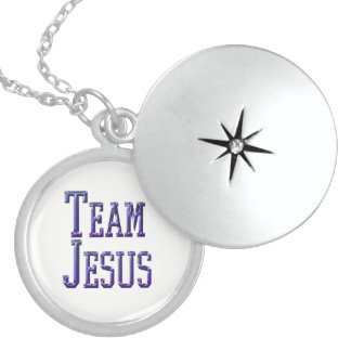 Team Jesus Sterling Silberkette