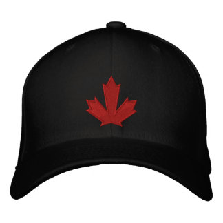 Team Kanada Bestickte Baseballkappe