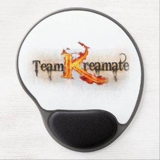 """Team Kreamate"" Markenlogo-Mausunterlage Gel Mousepad"