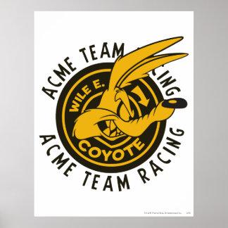 Team-Laufen Wile E. Coyote Acme Poster