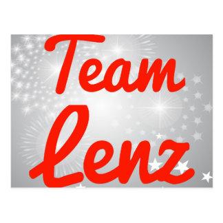 Team Lenz Postkarten