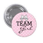 Team Mädchen-Baby Dusche Anstecknadel