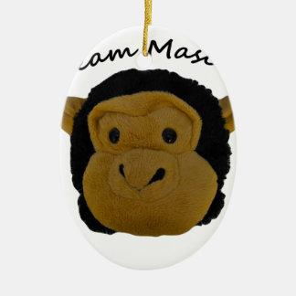 Team-Maskottchen Keramik Ornament