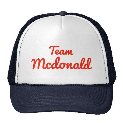 Team Mcdonald Kultcaps