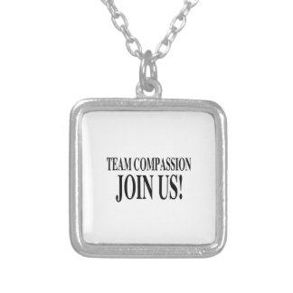 Team-Mitleid verbinden uns Selbst Gestaltete Halskette