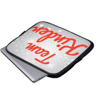 Team netter laptop sleeve schutzhülle
