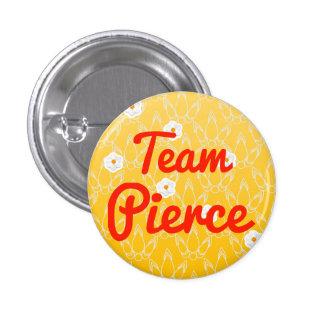 Team Pierce Anstecknadel