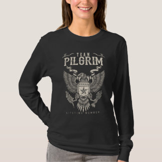 Team PILGER Lebenszeit-Mitglied. T-Shirt