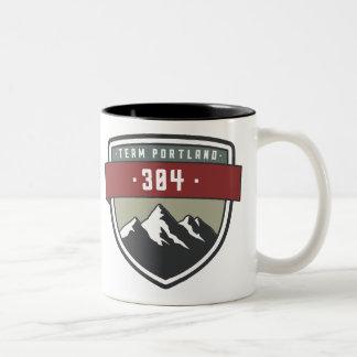 Team Portland 304 Tasse mit zwei Tönen