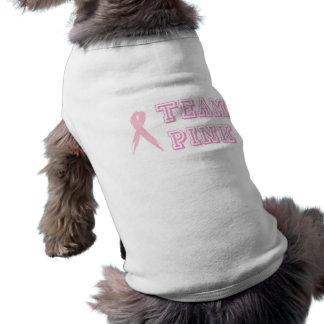 Team-rosa Hundet-stück Top