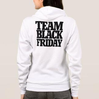 Team schwarzer Freitag Hoodie