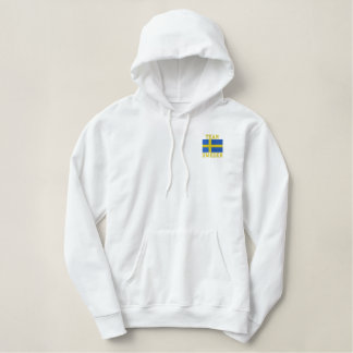Team-Schweden-Schwede-Sport Bestickter Hoodie