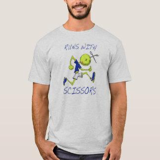 Team-Shirt - Läufe mit Scheren T-Shirt