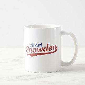 Team Snowden Skript Kaffeetasse