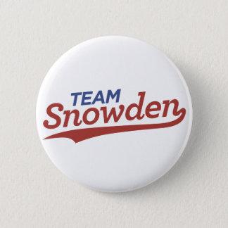Team Snowden Skript Runder Button 5,7 Cm