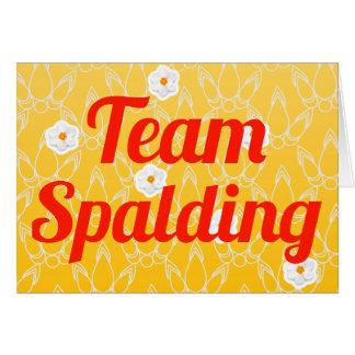Team Spalding Karte