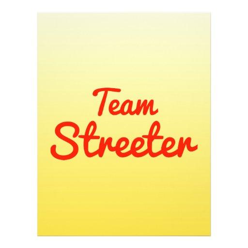 Team Streeter Flyerdesign