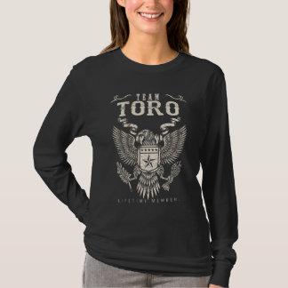 Team TORO-Lebenszeit-Mitglied. Geschenk-Geburtstag T-Shirt
