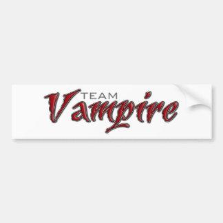 Team-Vampir Autoaufkleber