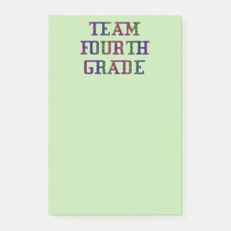 Team vierten Grad, Post-it Klebezettel