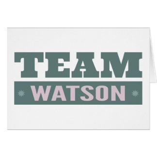 Team Watson Karte