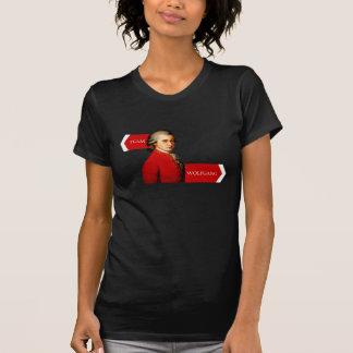 Team Wolfgang. Wolfgang Amadeus Mozart-Fan T-Shirt