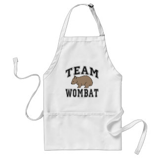 Team Wombat V Schürze