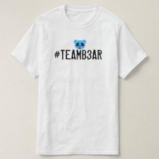 #Teamb3ar StandardShirt - blaues B3ar T-Shirt