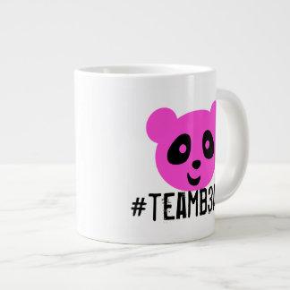 #teamb3ar Tassen-Rosa und Blau Jumbo-Tasse