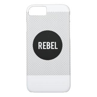 TeamREBEL iPhone 7 Fall traf transparenten iPhone 8/7 Hülle