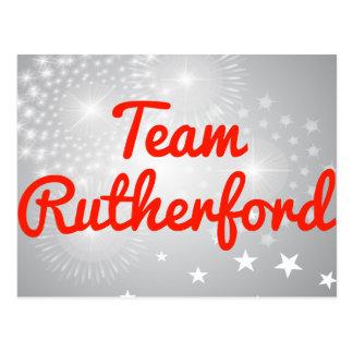 TeamRutherford Postkarte