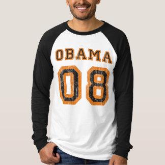 TeamVintager Raglan Obama 08 T-Shirt