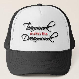 """""""Teamwork macht das Dreamwork! """" Truckerkappe"""